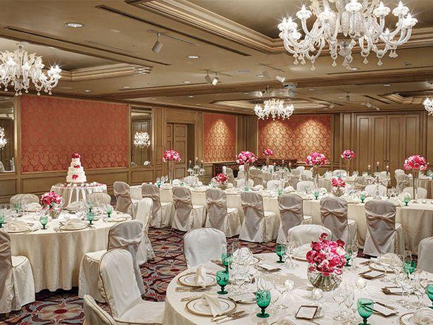 ホテル椿山荘東京(Hotel Chinzanso Tokyo)  ラグジュアリー・エレガントな会場でふたりのための特別な祝宴を