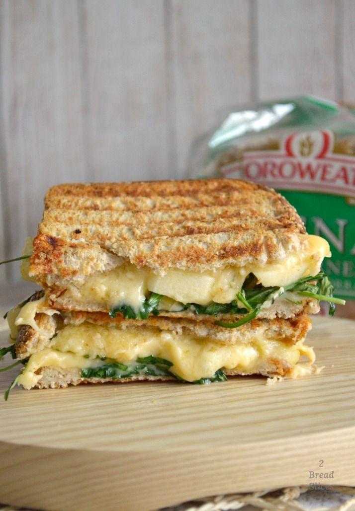 Receta de Sandwich de Manzana y Queso Gouda
