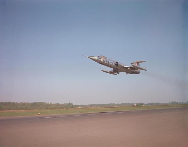 CF-104 #RCAF #Canadair