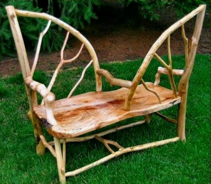 Aside From The Natural Beauty Of This Furniture, I Love That This Garden  Seat Allows You To Make Eye Contact If You Are Having A Conversation.