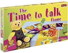 The Time To Talk Game Get children talking and interacting with this clever board game!