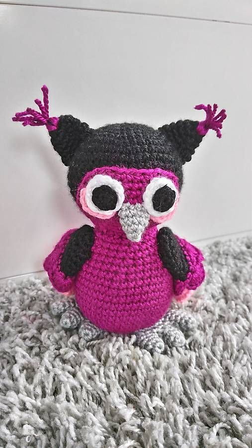 Jamin / sovička Mary crochet owl