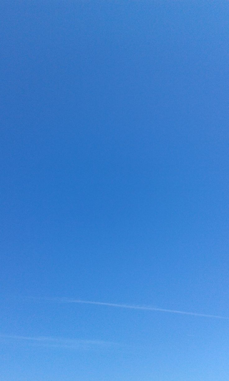 Pure blue sky over Mitchelstown County Cork in Southern #Ireland today.
