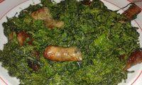 Ricette di una cuoca afragolese: Salsiccia e friarielli