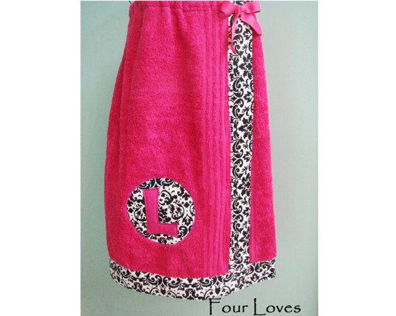 Envoltura de toalla Envoltura Spa de señoritas por FourLoves