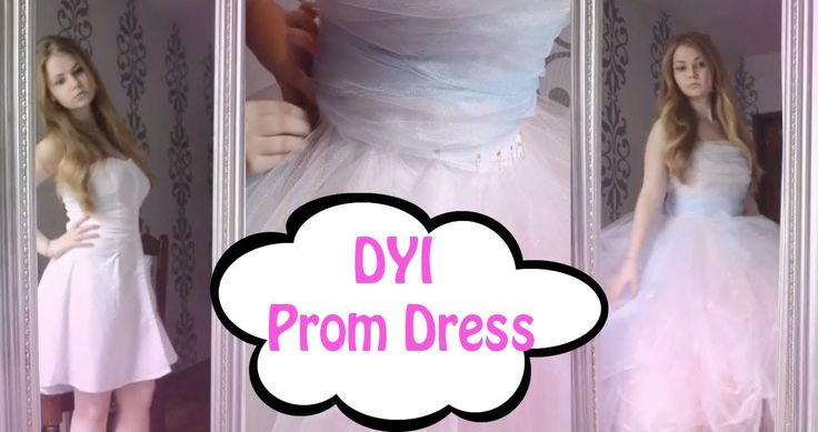 "DIY Prom Dress ""This is really really AMAZING!! She's so talented!!!"""