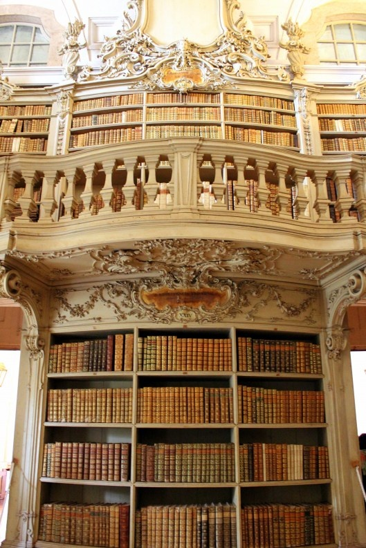 Detail of the Library of the Mafra Palace, Portugal