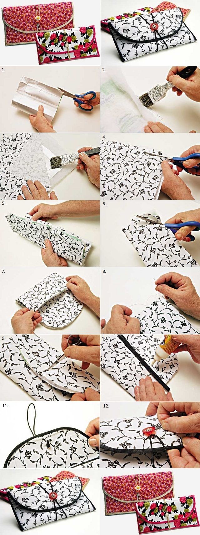 Transform a Milk Carton into a Wallet 1
