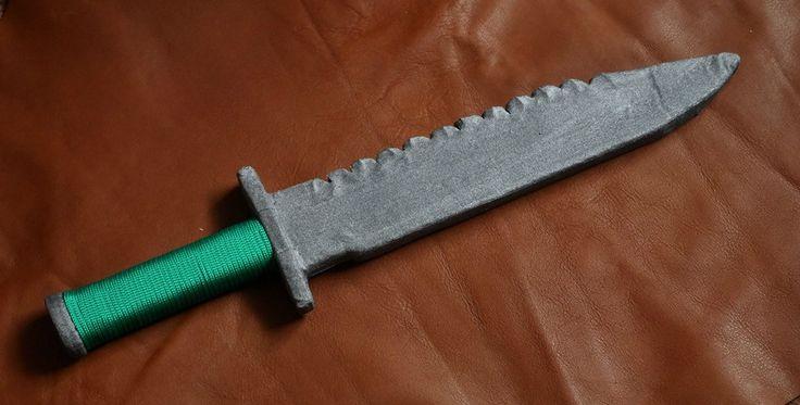 Rambo-like army LARP knife
