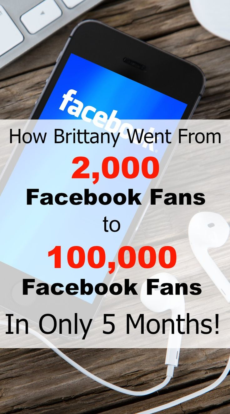 Brittany shares how she grew her Facebook page from 2,000 fans to 100,000 fans in only 5 months time! This was without paid and sponsored posts! Facebook is a great place to share your blog still. Even with all the algorithm changes. Check out her ebook! #affiliate