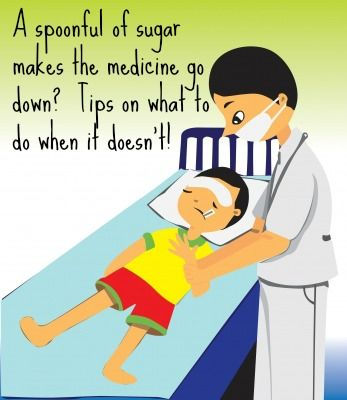 Tips on giving medicine to Toddlers and Prechoolers Successfully