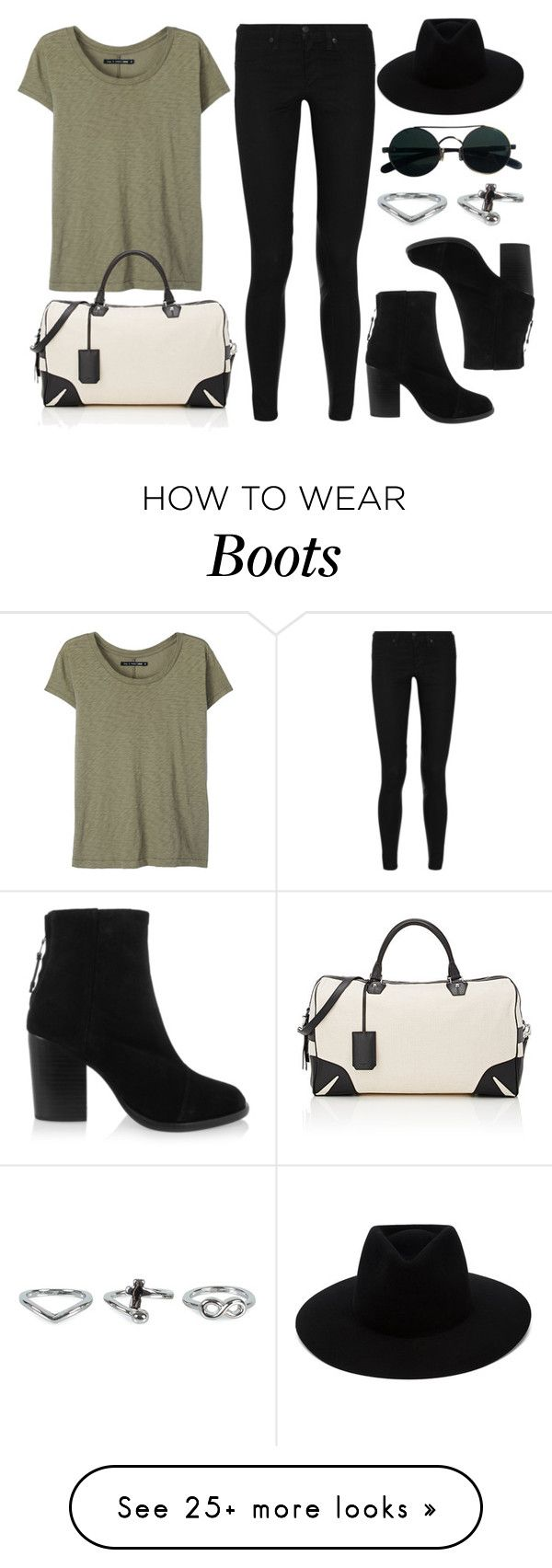 """""""Style #10781"""" by vany-alvarado on Polyvore featuring rag & bone and NLY Accessories"""