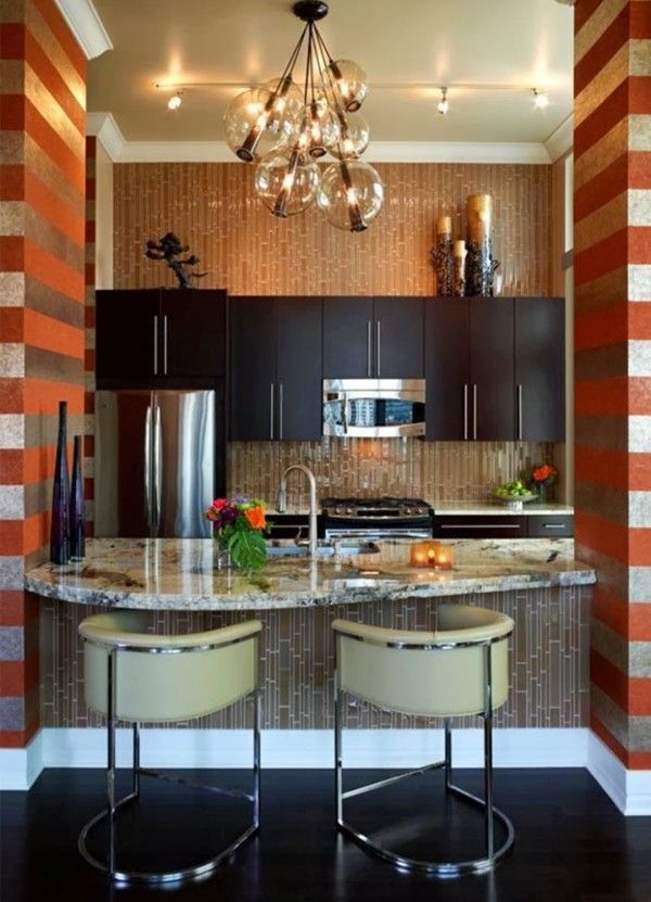 Modern small kitchen design kitchen pinterest for Kitchen design 7 x 7