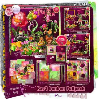 "NEW Collab ""Ras'l bonbon"" by Desclics & Josy Créations   Available @ http://www.paradisescrap.com/fr/fullpackbundle/11746-sweet-and-candies-borders-collab-josy-creations-desclics.html"