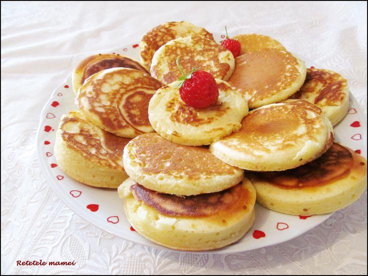 Clătite cu Pancake Maker