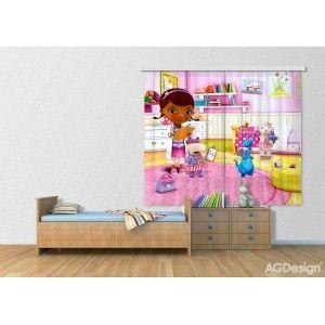 Dr. Plüssi függöny, kislány, sötétítő (280 x 245 cm)