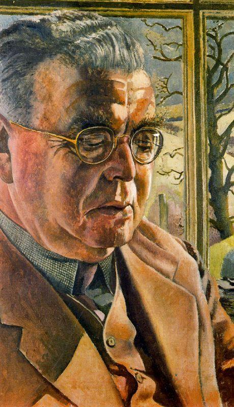Still Life - Stanley Spencer - WikiArt.org. Portrait of J L Behrend 1951.