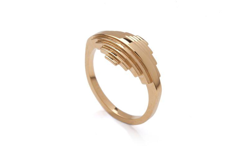 Penumbra Ring Gold