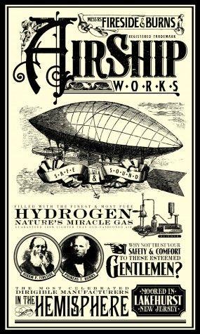 Vintage Advertisement - Airship Lakehurst, New Jersey