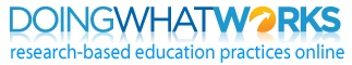 Portal for research-based educational best practices.