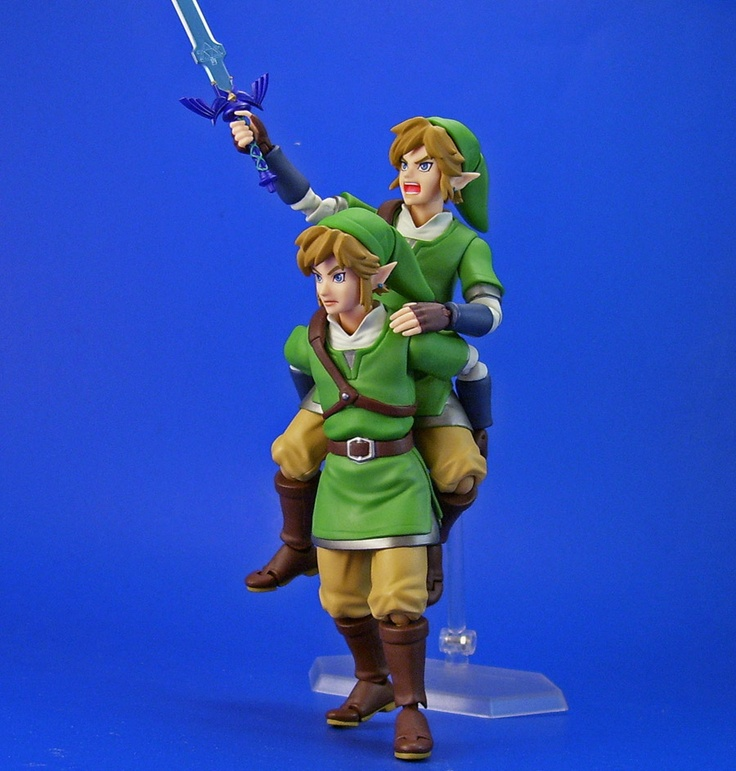 I want a little Link action figure...