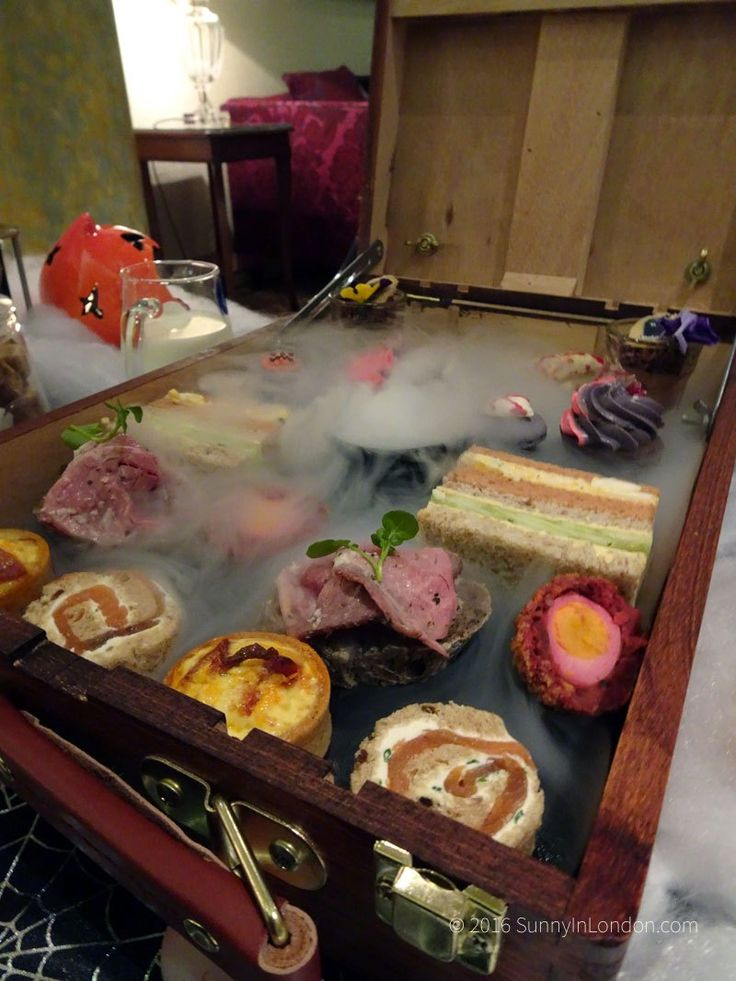 halloween-afternoon-tea-lancaster-london-chef-ben-purton