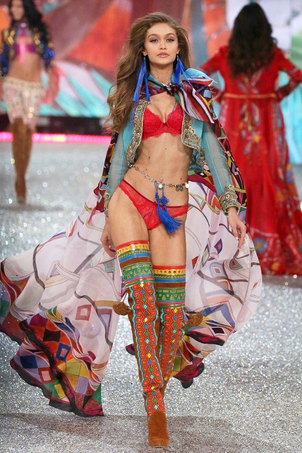 ジジ・ハディッド(Gigi Hadid), ヴィクトリアズ・シークレットのショー2016