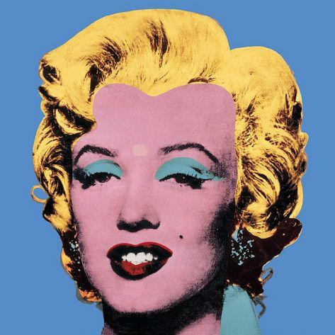 Andy Warhol - Shot Blue Marilyn, 1964