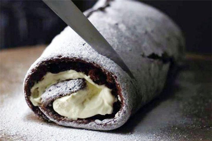 Daddy Cool!: Σοκολατένιος Κορμός με merenda & μπισκότα έτοιμο σε 15′ χωρίς ψήσιμο