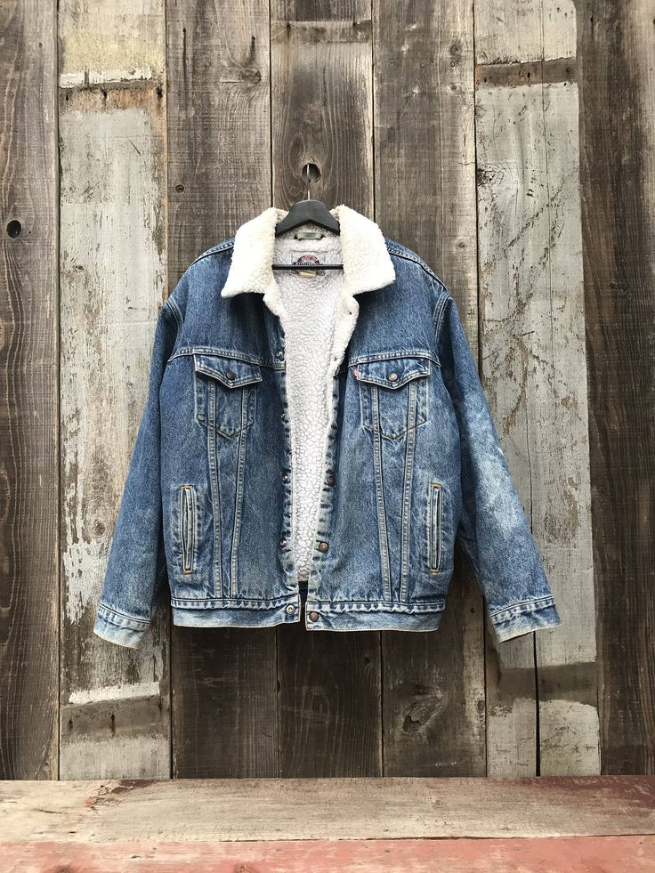 Handsome Vintage Levis Denim Jacket Mens Sherpa Denim Jacket    Handsome Vintage Levis Denim Jacket | Mens Sherpa Denim Jacket | Mens Levis Jacket | Levis Denim Jacket | Mens Levis Jean Jacket