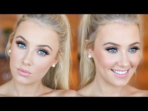 Natural Prom Makeup Tutorial This video teaches you how to achieve a natural, soft and pretty makeup look for prom.