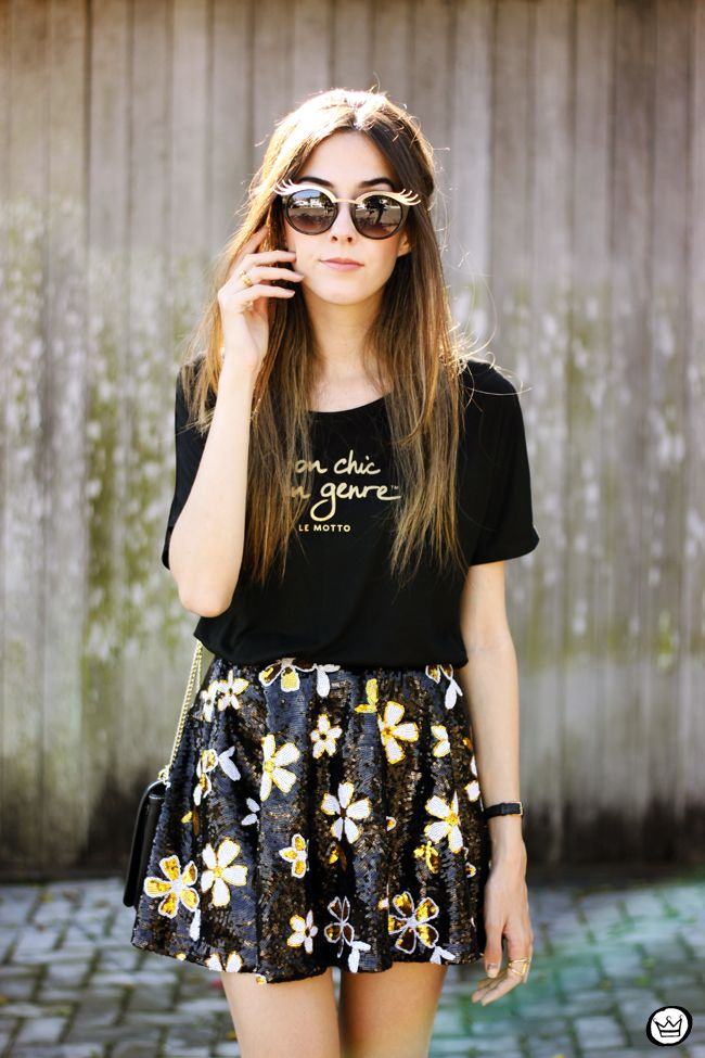 FashionCoolture - 06/12/2015 look du jour Le Motto black and gold outfit (2)