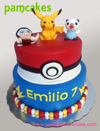 Pastel de Pokemon