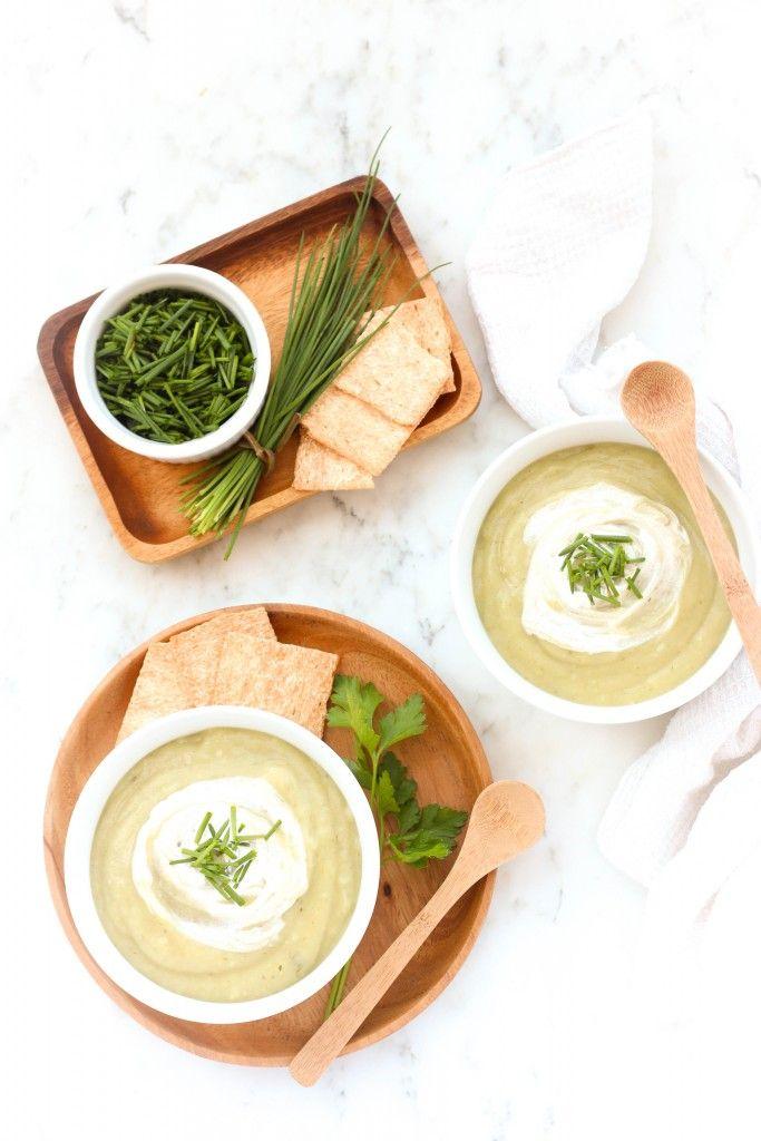 Cream of Potato & Herb Soup | Dish by Dish