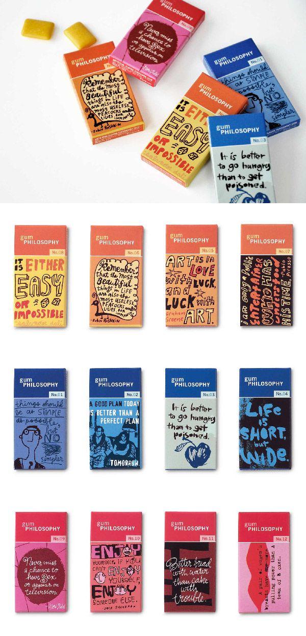 Blue Q Gum | Design Illustration Packaging Product Development | Design Ranch