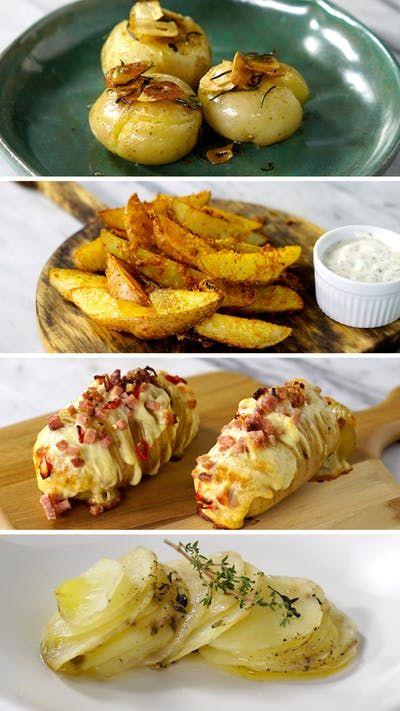 Descubra 4 maneiras deliciosas e super práticas de preparar batata!