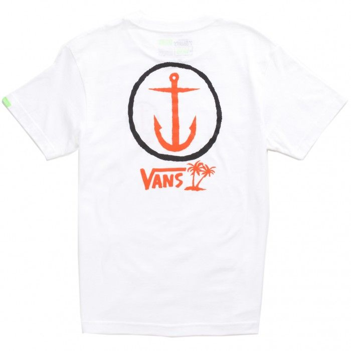 Vans X Captain Fin T-Shirt White