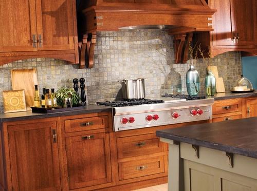 Elegant Quarter Sawn White Oak Kitchen Cabinets