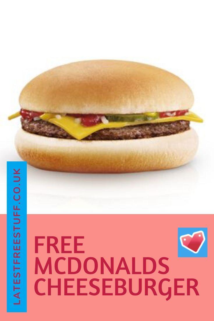 Free mcdonalds cheeseburger free mcdonalds mcdonalds