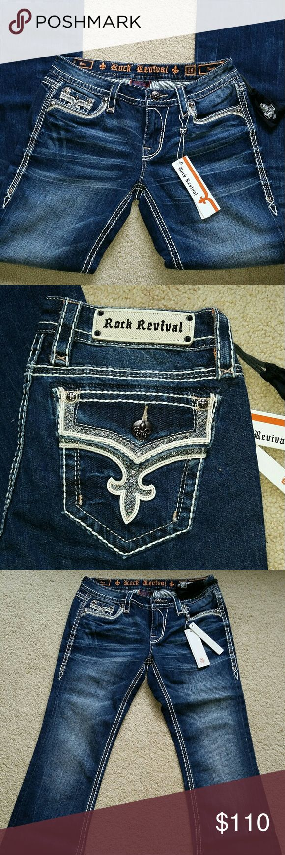 NWT Rock Revival ENA 29 Bootcut ENA bootcut size 29. Rock Revival Jeans Boot Cut