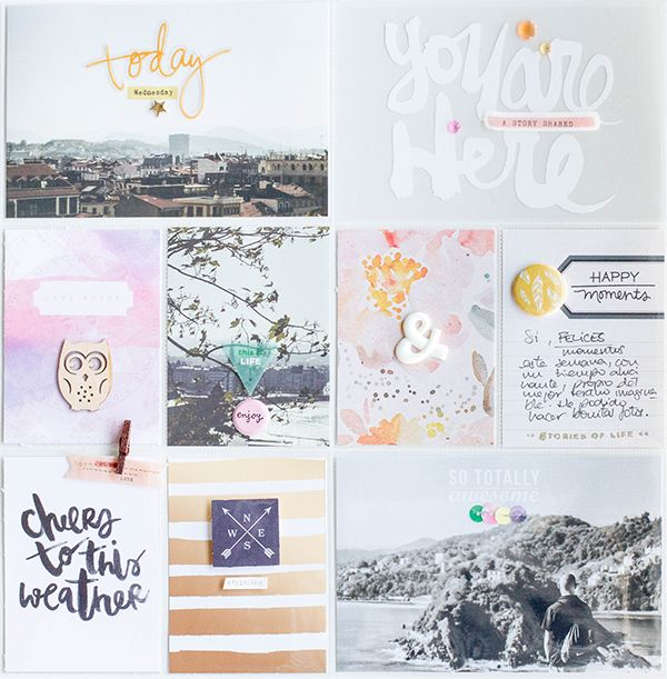 Lovely project life layout!