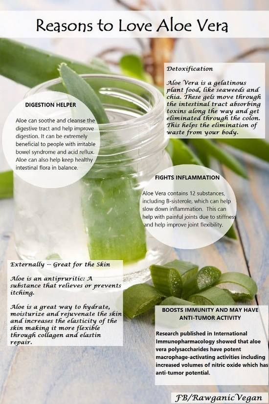Reasons to Love Aloe Vera...I've been using it exclusively for a fews days now and I'm already seeing amazing results!