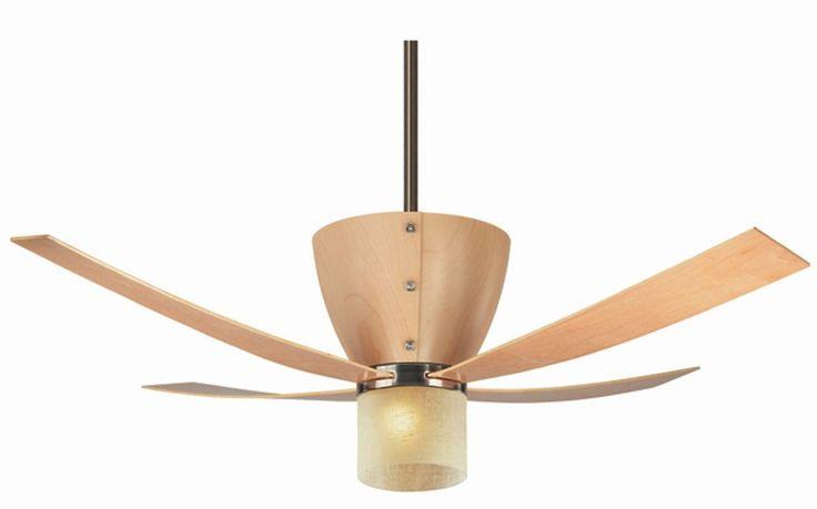 Ventilador de techo de madera ventiladores decoracion verano climatizacion calor - Ventiladores de techo de madera ...