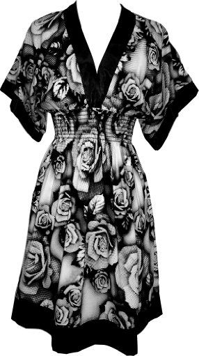 I love this dress. The fabric is so soft and the print is amazing.