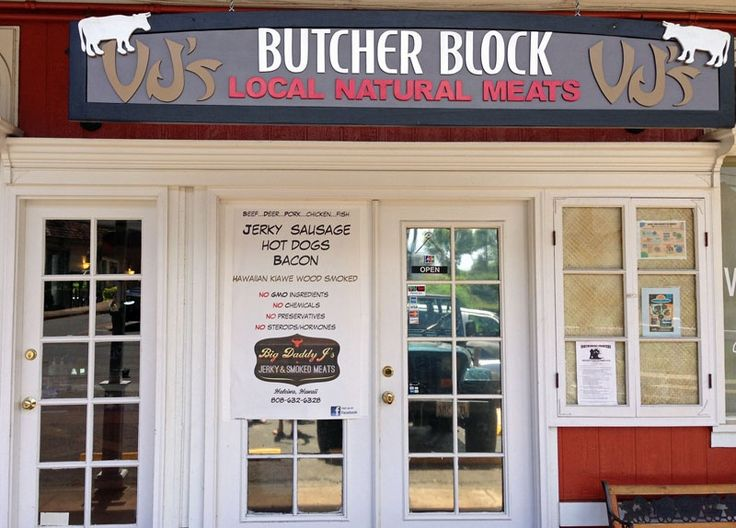VJ's Butcher Block in Haleiwa - Natural and organic butcher shop