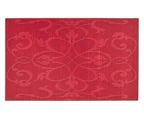 Tappeto in misto lana bikaner Forever ibiscus - 230x160 cm