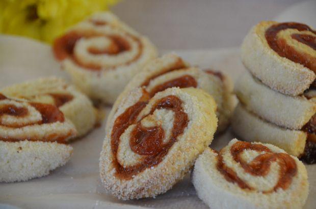 Rollitos de dulce de membrillo / Quince rolls cookies