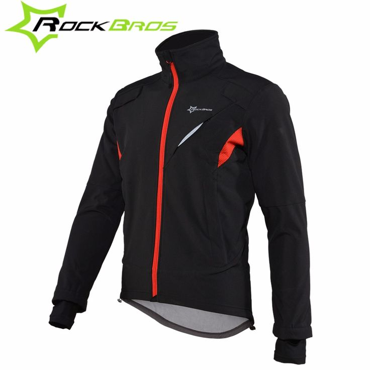 ROCKBROS Cycling Jacket Mountain Bike Windproof Jacket Bicycle Clothing Men Winter Sportswear Long Sleeve Cycling Cycling cloth //Price: $69.95 & FREE Shipping //     #hashtag4