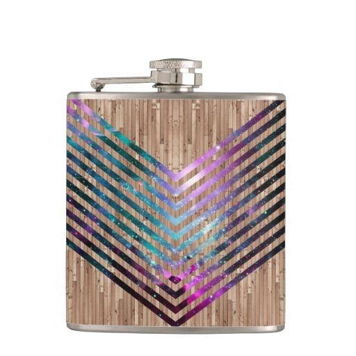 #Wood #nebula #chevron hip #flasks