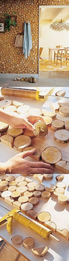 Cordwood Flooring by Sunny Pettis: 1 тыс изображений найдено в Яндекс.Картинках